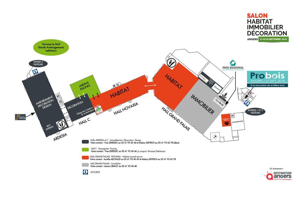 Salon habitat immobilier angers du 21 au 24 septembre for Salon de l habitat angers